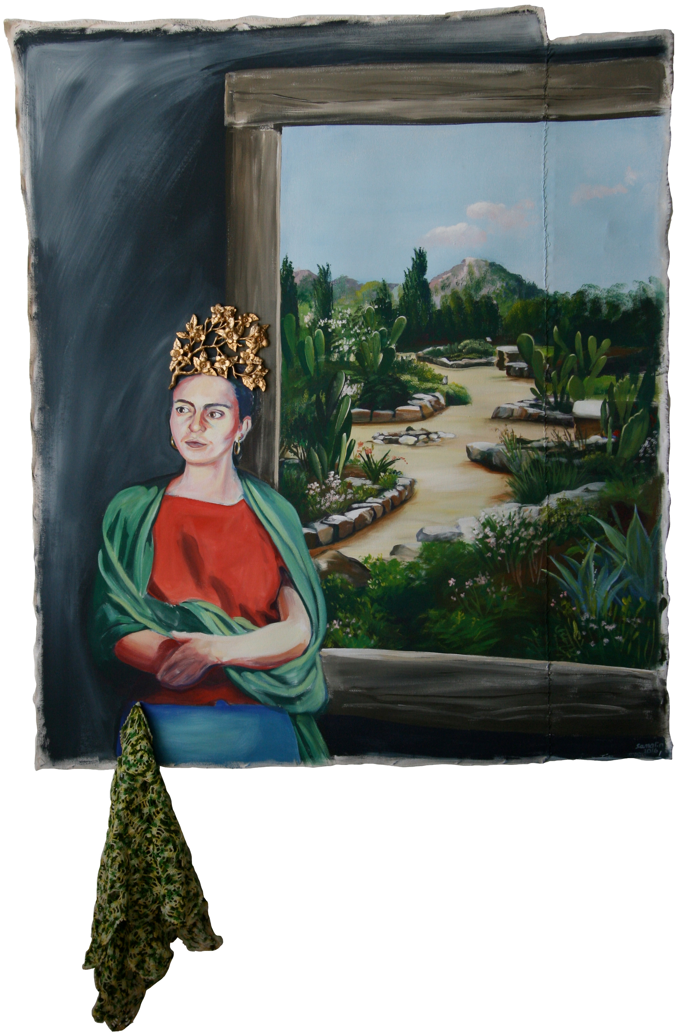 Self Portrait As Frida